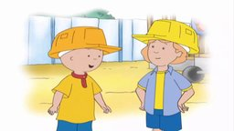 Caillou the Builder